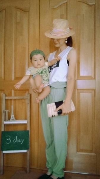 mama  tops/雑誌の付録 bottom/古着 baby  tops/通販 bottom /Old Navy