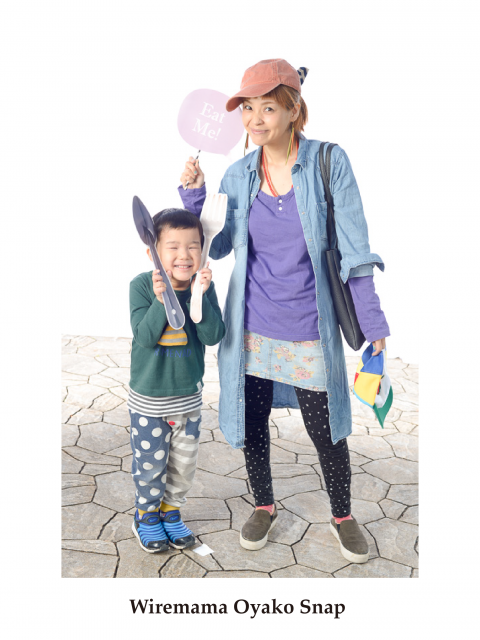 mama tops #古着 bottoms #西松屋 kids  #futafuta